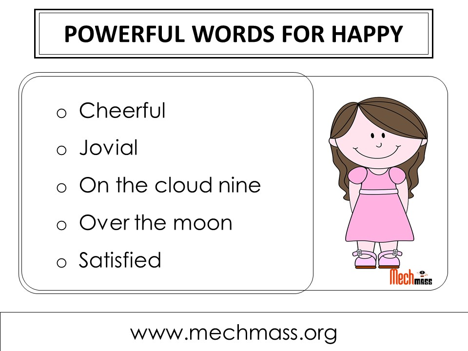 other ways to say happy
