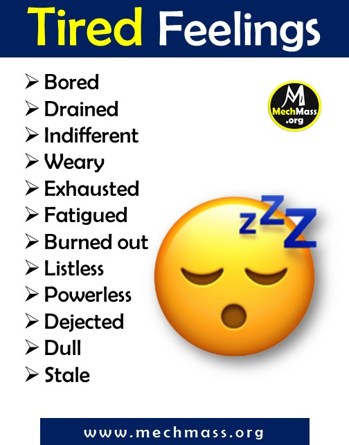 felelings and emotion words for tired (1)