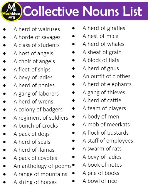 list of collective nouns (2)
