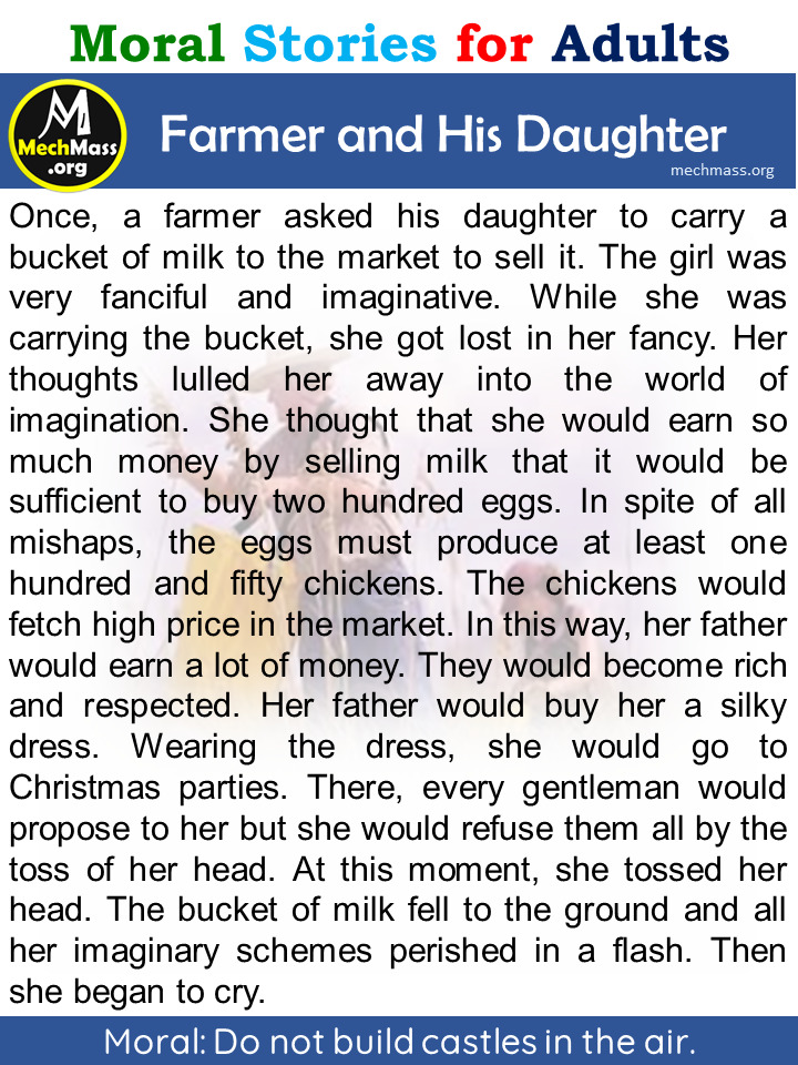 farmer and his daughter story