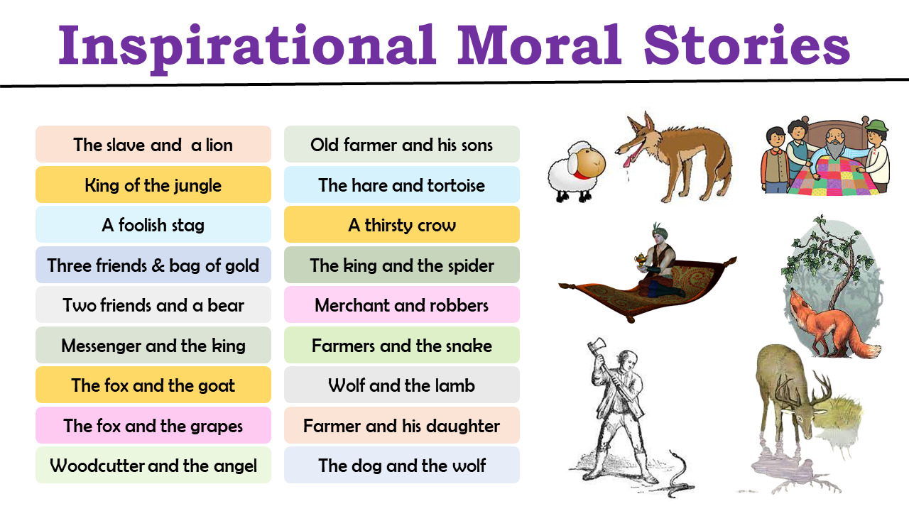 inspirational moral stories to read